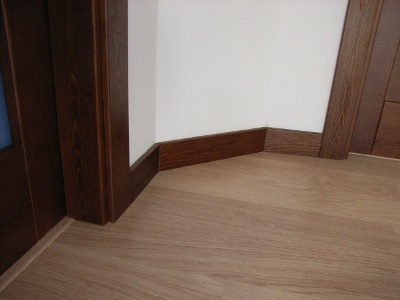 Puertasdeexterior - Rodapie de madera ...